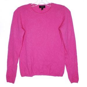 CHARTER CLUB Luxury Hot Pink Cashmere Sweater